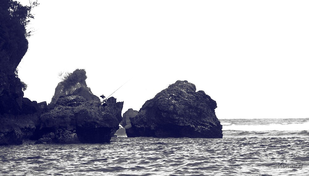 Fishing At The End Of The Reef #1 by Komang