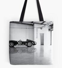 Old Maserati in Garage Tote Bag