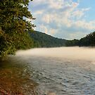 Foggy River by Richard Skoropat