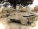 WW2 Panther Tank - War and Peace by Colin  Williams Photography