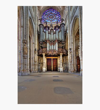 Church of St. Ouen - The Aristide Cavaillé Coll Organ Photographic Print