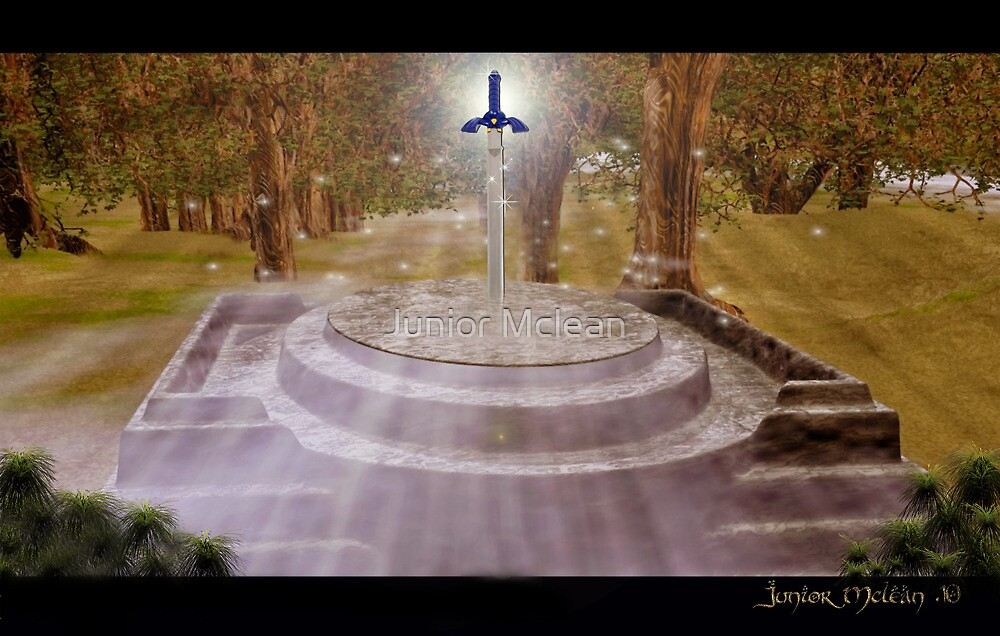 The Legendary Master Sword by Junior Mclean