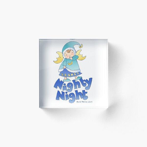 Nighty Night Sprite Acrylic Block