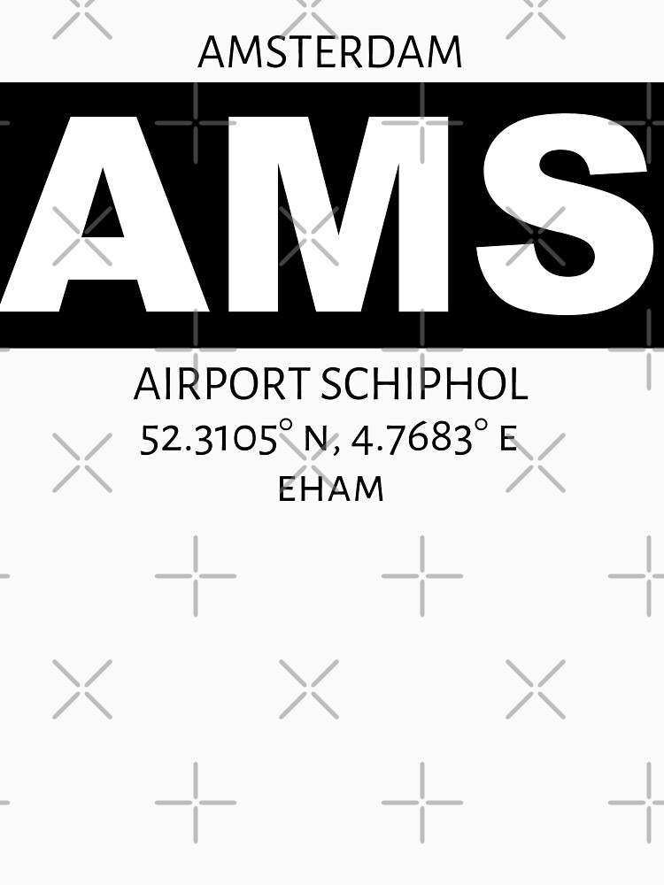 Amsterdam Airport AMS by AvGeekCentral