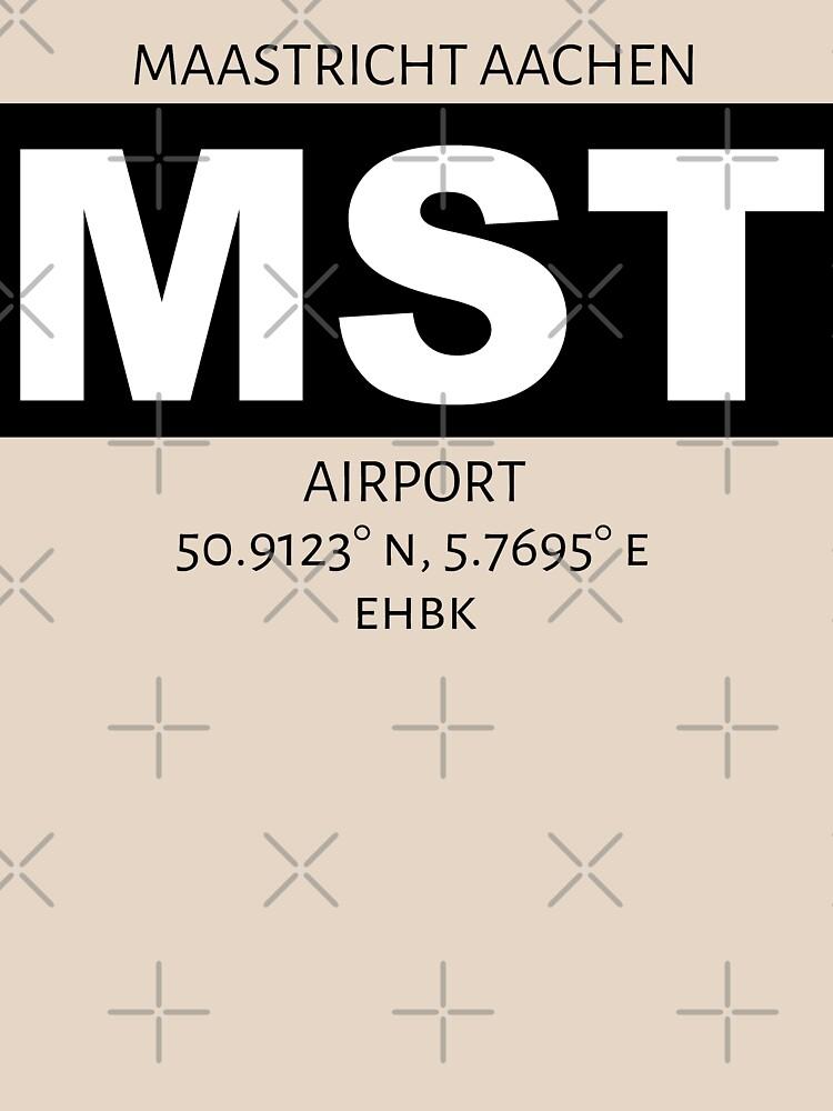 Maastricht Aachen Airport MST by AvGeekCentral