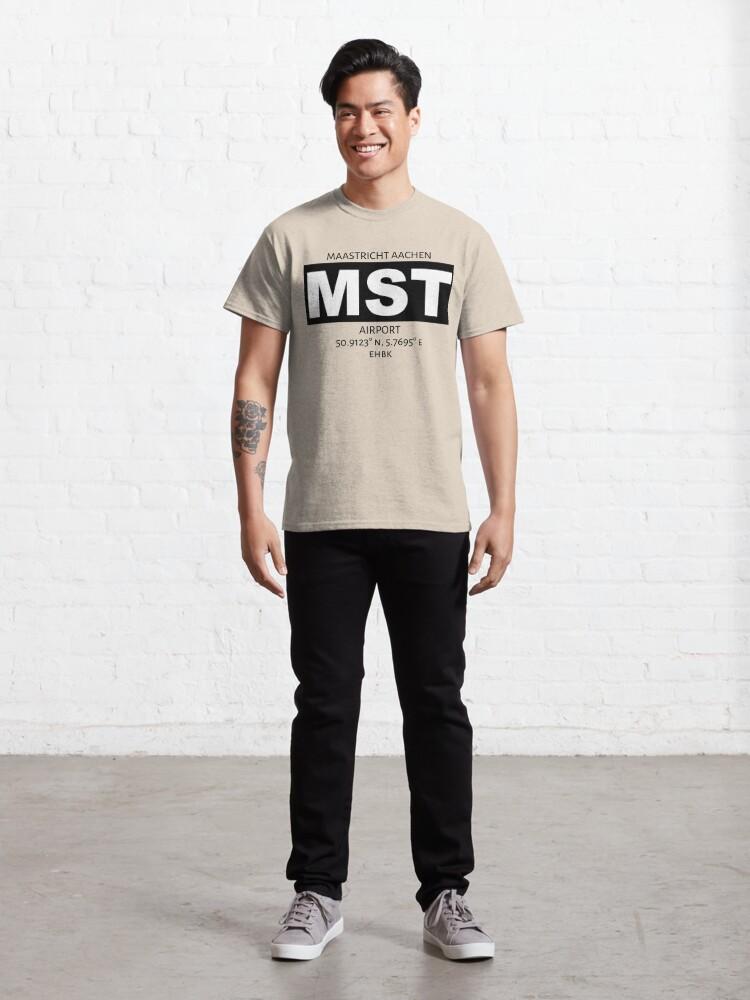 Alternate view of Maastricht Aachen Airport MST Classic T-Shirt