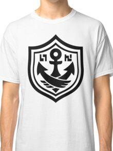 SquidForce White Anchor Tee Classic T-Shirt