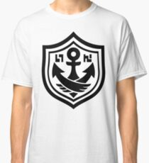 SquidForce White Anchor Tee Classic T-Shirt