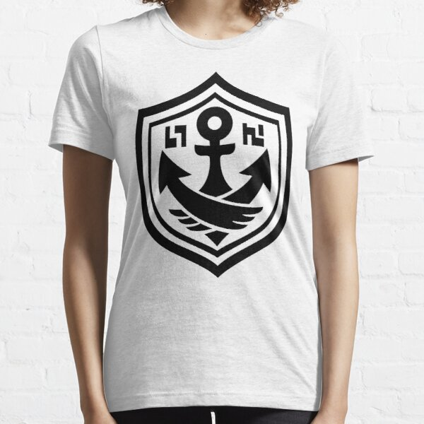 SquidForce White Anchor Tee Essential T-Shirt
