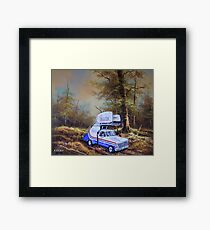 Take the Stairs Framed Print