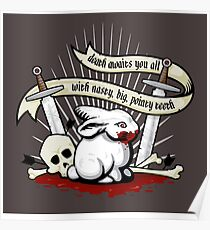 The Rabbit of Caerbannog Poster