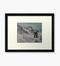 Swooped Framed Print