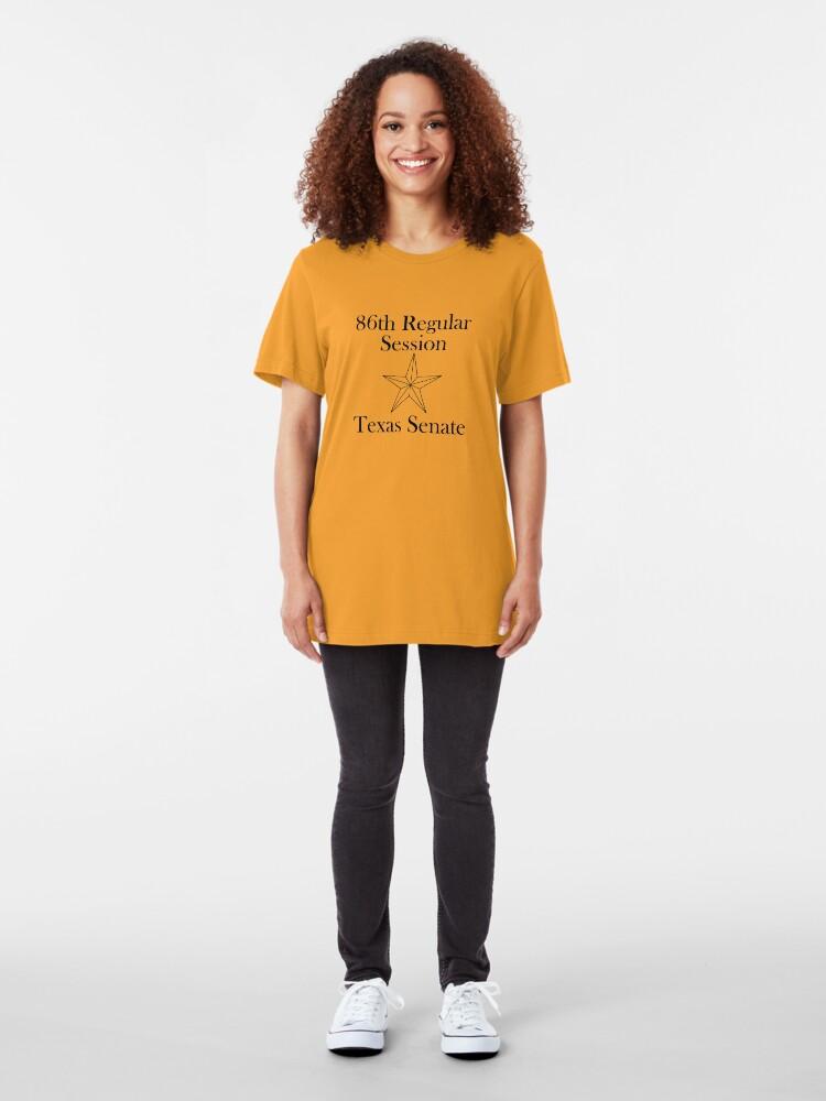 Alternate view of Texas Senate - 86th Regular Session - Texas Legislature Slim Fit T-Shirt