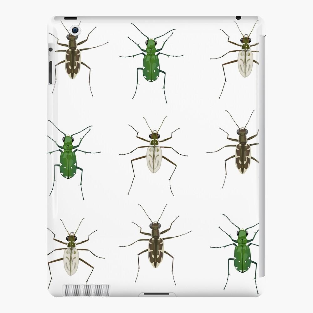 Tiger beetle trio iPad Case & Skin