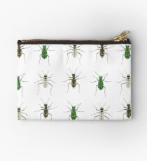 Tiger beetle trio Zipper Pouch