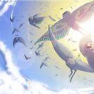 Der anmutige Flug der Mottenmenschen von ziodynes098