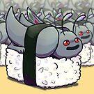 Mothman Sushi von ziodynes098