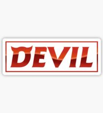 Super Junior SuJu - DEVIL Sticker
