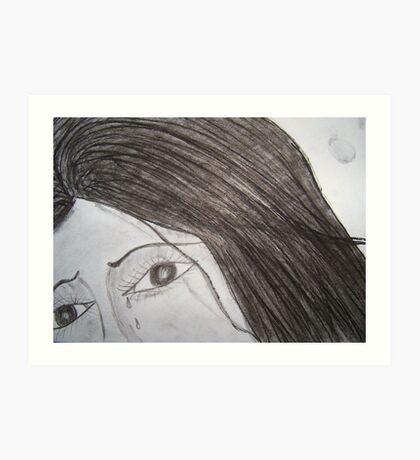 The girl from yesterday..!! Art Print