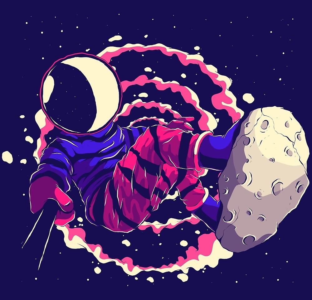 Asteroid Day by Fernando Nunes - Illustrator