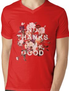 No Thanks I'm Good Mens V-Neck T-Shirt