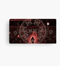 Kneel before the Keepers of the Continuum Canvas Print