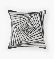 The Hypnotist's Staircase Throw Pillow