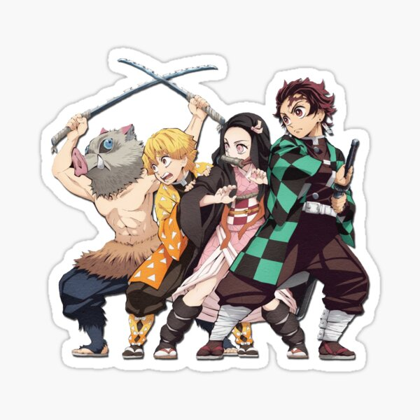 Demon slayer: Kimetsu No Yaiba Sticker