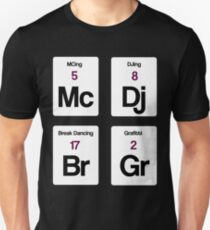 The Four Elements of Hip Hop Unisex T-Shirt