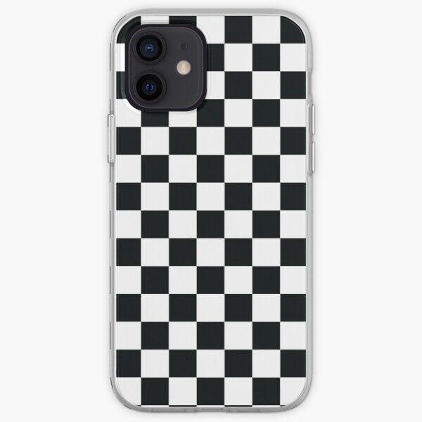 Black + White Checkerboard iPhone Soft Case