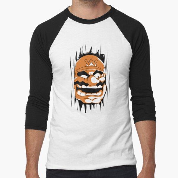 The Grinning Baseball ¾ Sleeve T-Shirt