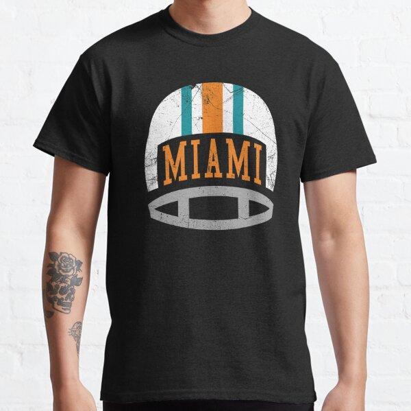 Miami Retro Helmet - Aqua Classic T-Shirt