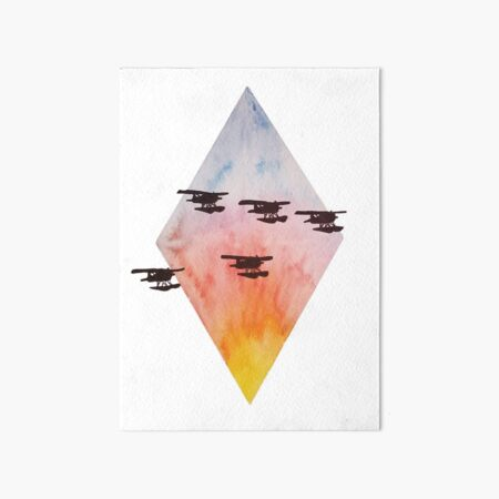 Missing Man Formation  Art Board Print