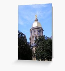 Main Building ~ Notre Dame University Greeting Card