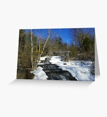 Spring Thaw Greeting Card