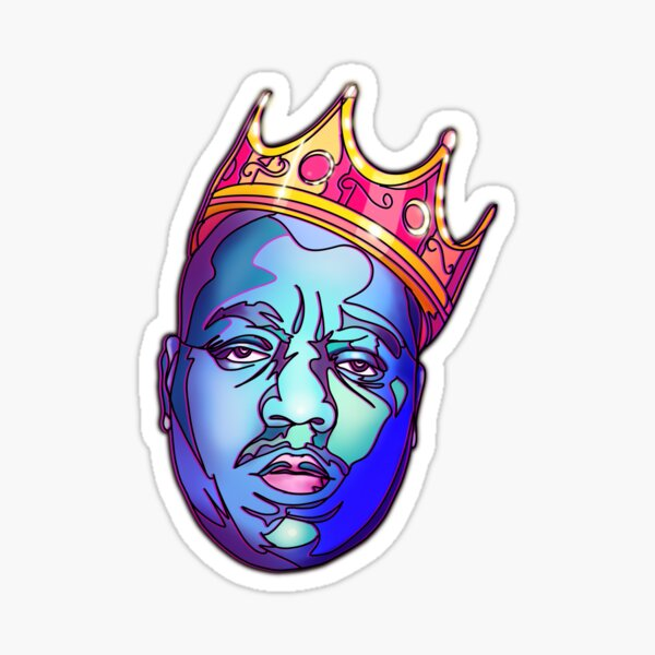 Notorious - hip hop Sticker
