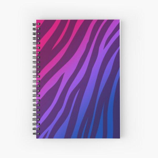 Bi Flag Tiger Stripes Spiral Notebook