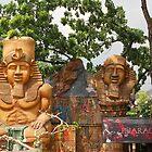 Quezon Memorial Circle: Circle of Fun Pharoah 27 by walterericsy