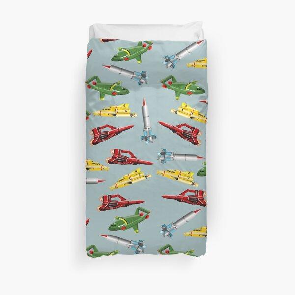 Thunderbirds Pattern Duvet Cover