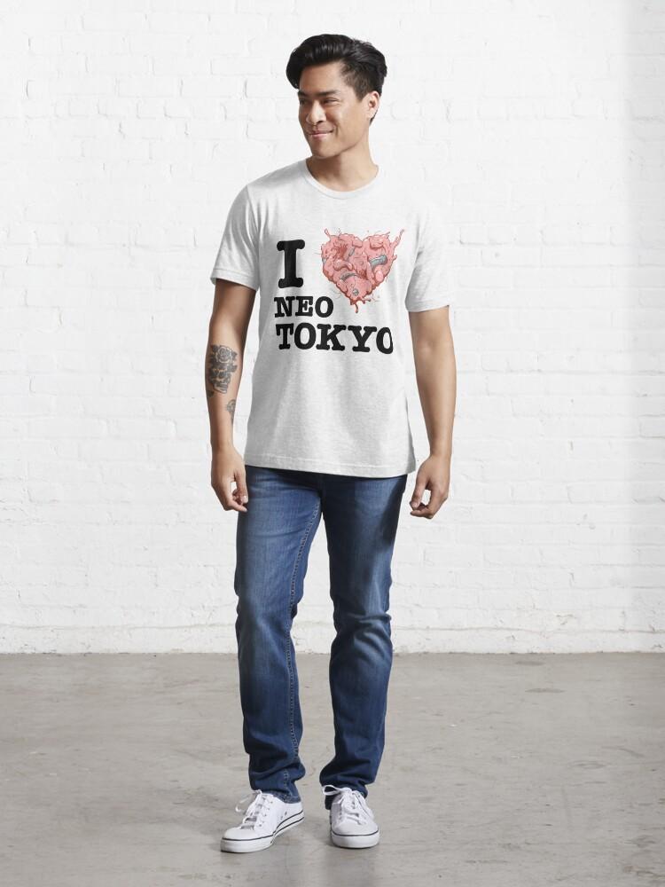 Alternate view of I Tetsuo Neo Tokyo Essential T-Shirt