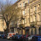 Narbutta street in Old Mokotow district of Warsaw, Poland by Lukasz Godlewski