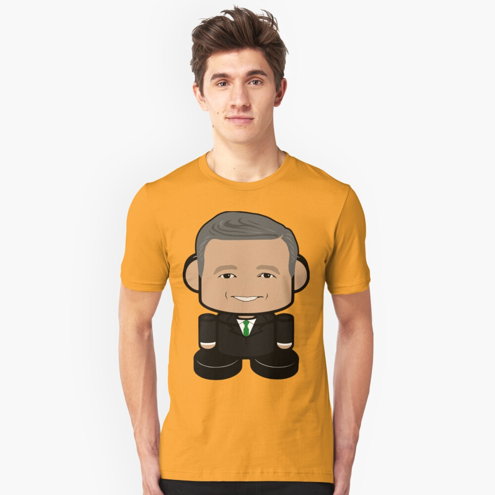 O'March Politico'bot Toy Robot 1.0 Unisex T-Shirt Front