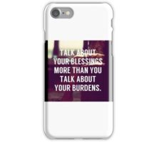 Motivation quote iPhone Case/Skin