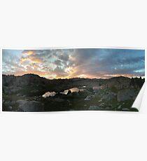 Wind River Range Sunset Poster