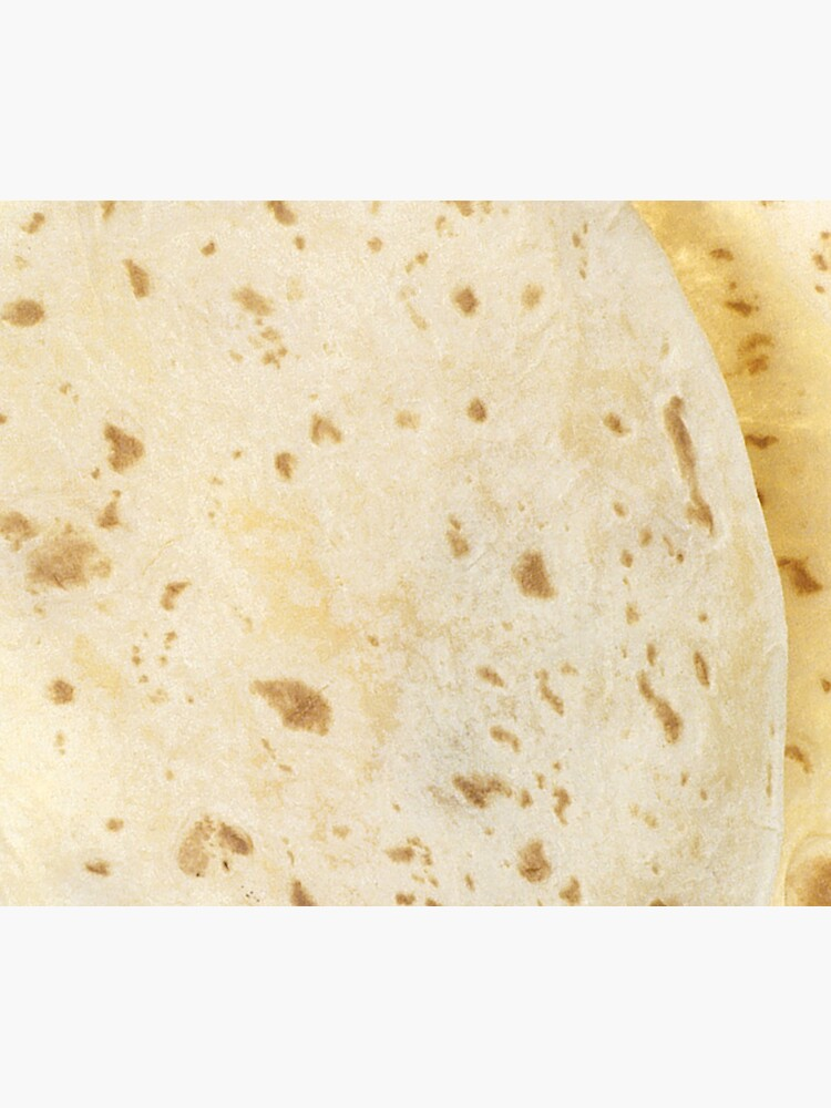Flour Tortilla Burrito Taco Pattern  by scohoe
