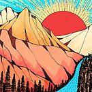 «Montañas y el rio» de steveswade