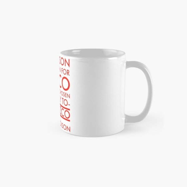 The Poison. in red Classic Mug
