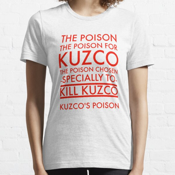 The Poison. in red Essential T-Shirt