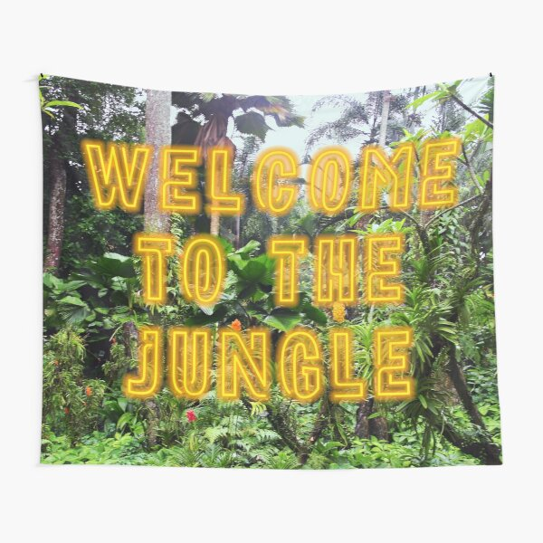 Welcome to the Jungle - Neon Tapestry