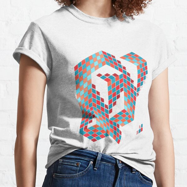 Op Art. Op Art. Victor #Vasarely, was a Hungarian-French #artist, who is widely accepted as a #grandfather and leader of the #OpArt movement Classic T-Shirt